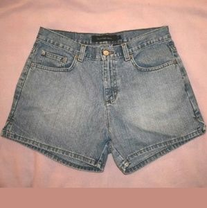 womens 8 Calvin Klein Jean shorts denim mom shorts